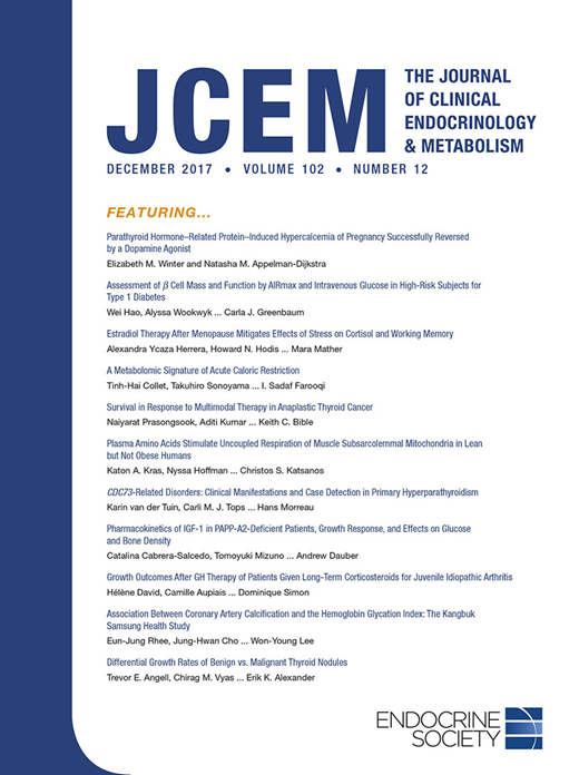 The Journal of Clinical Endocrinology and Metabolism