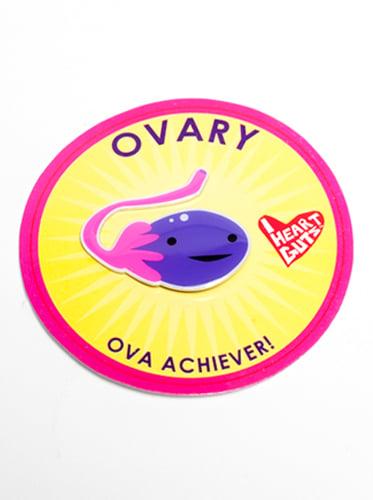Gland Lapel Pin - Ovary
